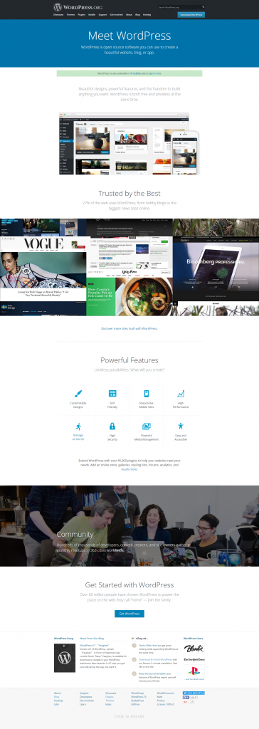 WordPress官方新版上线