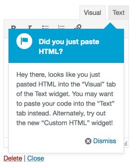 WordPress 4.8.1将启用独立的小工具编辑