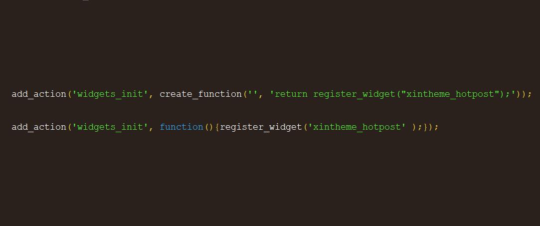 修改PHP 7.2的create_function